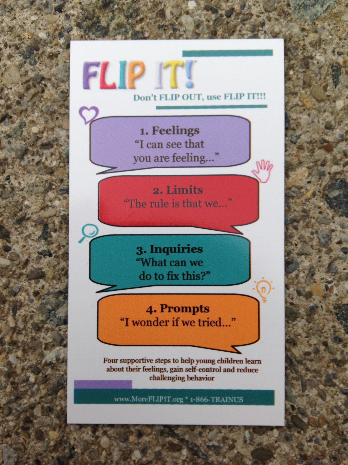 FLIP IT! Magnets (set of 20) - Item #1001 Image