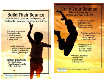 Resilience-Building Posters, Adults & Children (two of each type) - Item #1024 Image