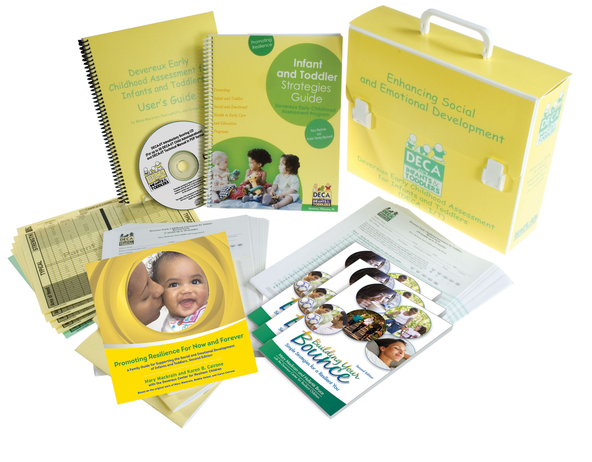 This comprehensive kit contains resources to support the development of  infants' and toddlers' social and emotional health. The screening and  assessment ...