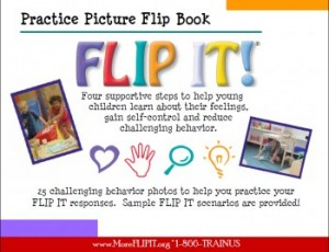 FLIP IT! Practice Picture FLIP Book - Item #1003 Image