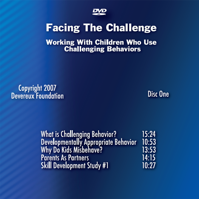Facing the Challenge (DVD Disc One) - Item #1017 Image