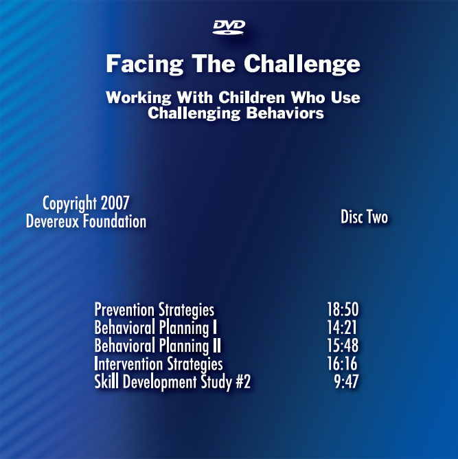 Facing the Challenge (DVD Disc Two) - Item #1018 Image